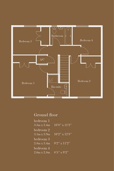 The Austen - Show Home Floor Plan
