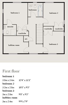 The Hughes Floor Plan
