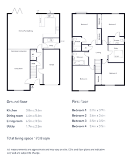 Wicket House Floor Plan