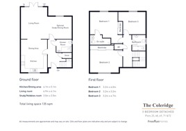 The Coleridge Floor Plan